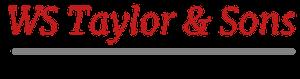 WS Taylor logo