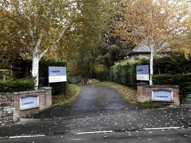 Former Funeralcare offices in Brampton Cumbria